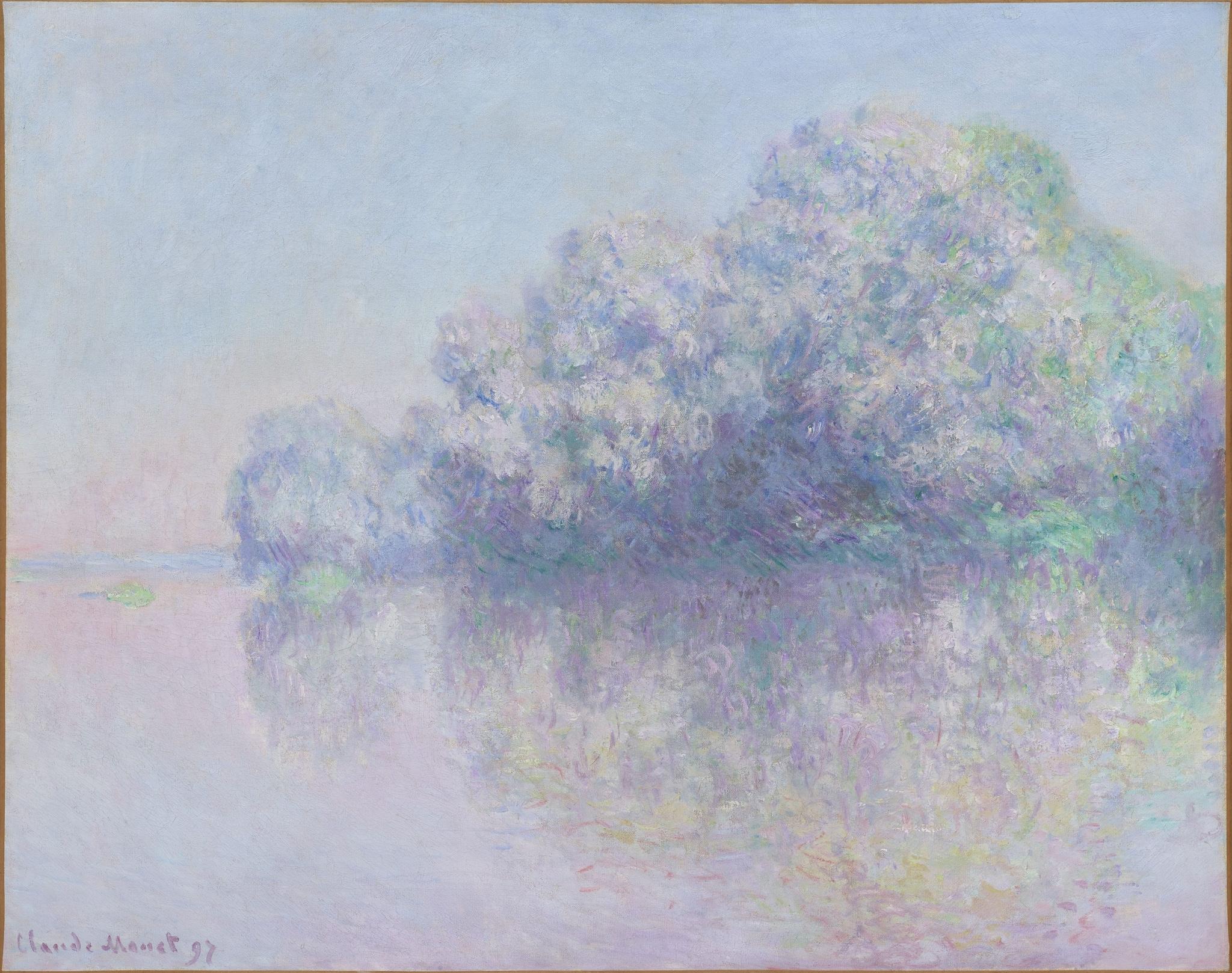 Claude Monet, L'ile aux Orties, 1897