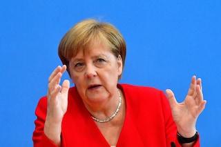 """Fondi russi a Lega, Merkel: """"Spetta all'Italia chiarire, ma preoccupa sostegno Mosca a populisti"""""""