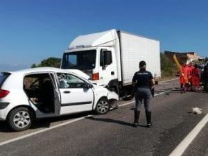 Incidente a Castelsardo (immagine da La Nuova Sardegna).