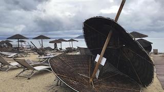 Tornado si abbatte sulla Grecia: morti 6 turisti stranieri, anche due bimbi. Trenta feriti