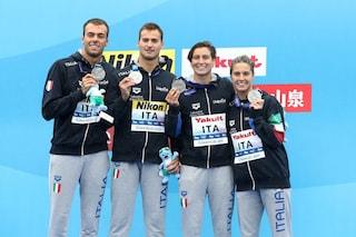 Mondiali di nuoto 2019, medaglia d'argento per l'Italia nella staffetta mista