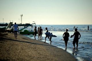 Rimini, divieto di balneazione per escherichia coli