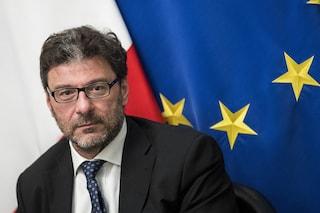"""Giorgetti da Mattarella: """"Rinuncio a fare il commissario europeo"""""""