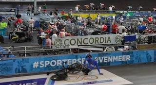 Belgio, paura per Lorenzo Gobbo: il ciclista azzurro infilzato da una stecca di legno