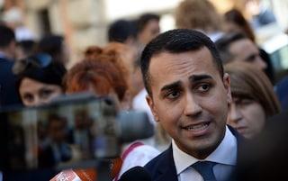 """Tav, Luigi Di Maio: """"Lega non ha i numeri, userà i voti del Pd per fare un favore a Macron"""""""