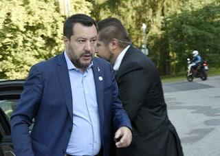 """Salvini avverte M5s: """"Mancanza di fiducia anche personale, finestra elettorale sempre aperta"""""""