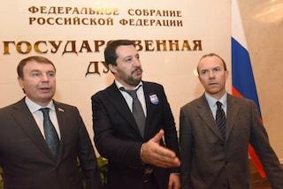 Fondi russi alla Lega: Guardia finanza a casa di Vannucci, il terzo italiano dell'incontro a Mosca
