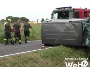 Screen del video di Faenzawebtv.
