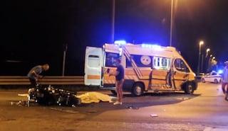 Castiglione di Cervia, incidente sulla statale 254 Cervese: moto contro ambulanza. Un morto
