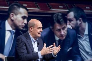 """Nicola Zingaretti attacca: """"Salvini e Di Maio imbarazzanti, preparano nuovo inciucio e rimpasto"""""""