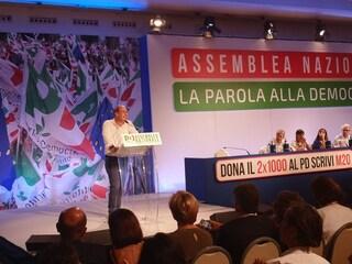 """Assemblea nazionale Pd, Zingaretti: """"Noi unica alternativa credibile alla deriva italiana"""""""