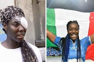 Daisy Osakue un anno dopo: dall'aggressione alla medaglia d'oro alle Universiadi