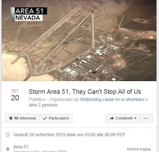 Area 51, in 1 milione pronti a invadere la misteriosa base correndo con le braccia all'indietro