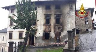 Belluno, incendio distrugge la casa: donna muore intrappolata nel suo appartamento