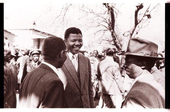 Nelson Mandela in una foto degli anni Cinquanta.