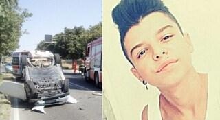 Incidente in Sardegna, schianto tra una Smart e una Panda: muore Andrea, aveva 18 anni