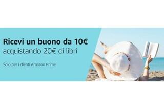 5 libri da leggere sotto l'ombrellone con l'offerta del Prime Day di Amazon