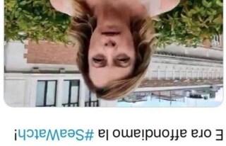 """Giorgia Meloni a testa in giù sui social: """"Assessore Pd mi vuole morta, Zingaretti che dice?"""""""