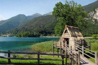 Museo delle Palafitte del lago di Ledro, riapre il villaggio preistorico a cielo aperto