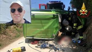 Pollenza, auto finisce contro un camion e si ribalta: muore 64enne, la moglie è grave