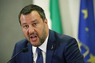 """Inchiesta Bibbiano, Salvini: """"Bambini devono tornare a casa. Tribunali vadano anche nei campi rom"""""""
