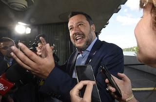"""Matteo Salvini a Bibbiano: """"In difesa di chi non si può difendere, nel silenzio della sinistra"""""""