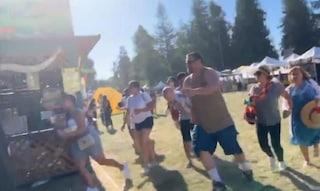 California, sparatoria al festival: 3 morti. Ucciso il killer: è un giovane di origini italiane