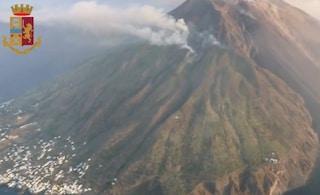 """Stromboli, intervista all'Ingv: """"Vulcano instabile dopo l'eruzione. Registrato piccolo tsunami"""""""