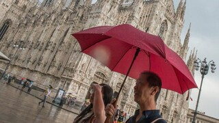 Meteo, forti temporali al nord, caldo africano al sud nel primo weekend di agosto