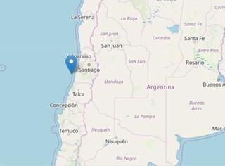 Terremoto in Cile, violentissima scossa di magnitudo 6.6: avvertita in tutto il Paese