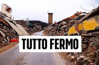 Terremoto Centro Italia: ancora 50mila sfollati, nessuna casa ricostruita in tre anni