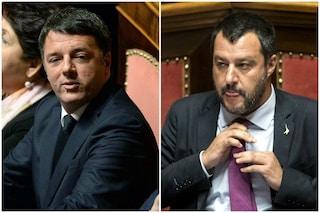 """Matteo Renzi attacca la Lega sul Green Pass: """"È tutta una manfrina, non usciranno dal governo"""""""