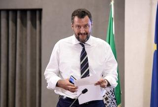 """Salvini dal palco di Sabaudia: """"Con i 5Stelle qualcosa si è rotto. Ma non ci interessano poltrone"""""""