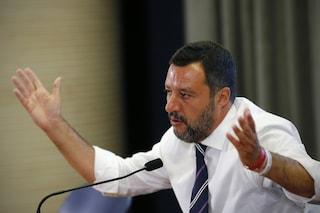 """Salvini: """"Finita alleanza M5s-Lega e governo Conte, andiamo al voto"""""""
