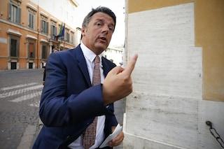 """Renzi a Salvini: """"Io non entro nel governo istituzionale, ma tu quando ti dimetti?"""""""