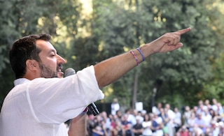 """Salvini non si dimette: """"Siamo in mano a una trentina di renziani, non lascio il Viminale"""""""