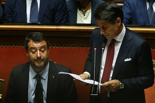 Sondaggi politici, il 60% degli italiani pensa che Conte abbia battuto Salvini in Aula