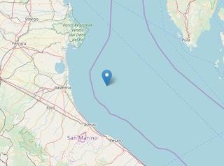 Terremoto in Romagna, scossa di magnitudo 2.8 scuote la costa da Rimini a Cesena