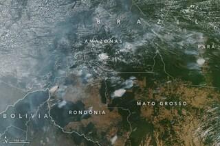 La Foresta Amazzonica va a fuoco: 10mila incendi nell'ultima settimana, quasi tutti dolosi