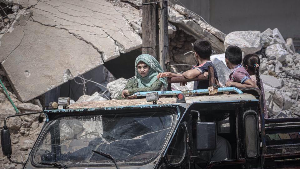 Solo nel mese di agosto sono oltre 72mila le persone in fuga dalle province nord–occidentali della Siria