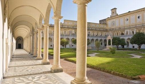 Il 15 agosto a Napoli si potrà visitare il suggestivo Chiostro di San Martino.