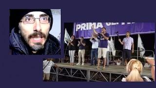 """Soverato, attivista sabota il comizio di Salvini: """"Troppe bugie, così ho spento i microfoni"""""""