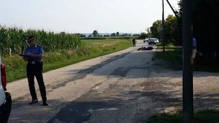 Verona, motociclista muore nello scontro con un furgone della consegna del pane