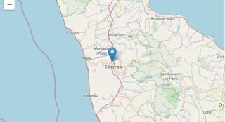 Terremoto a Cosenza: scossa di magnitudo 2.6 scuote la Calabria, paura ma nessun danno