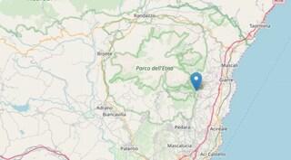 Terremoto sull'Etna, scossa di magnitudo 3.0 scuote la provincia di Catania