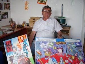 """Lo storico disegnatore di """"Topolino"""" Giulio Chierchini è morto a Genova all'età di 91 anni."""