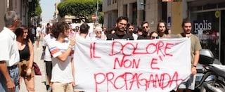 """Salvini incontra i genitori dei bimbi uccisi da un suv. Contestato: """"Il dolore non è propaganda"""""""
