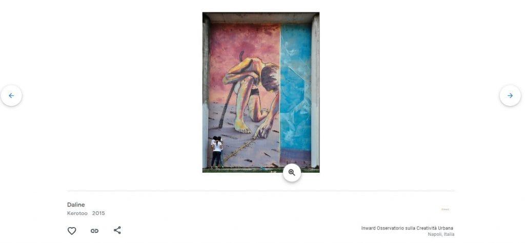 Kerotoo è un altro degli artisti coinvolti nella digitalizzazione della street art di Google.