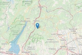 Terremoto a Trento, una scossa di magnitudo 3.4 sveglia il paese