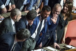 """Crisi di governo, Salvini: """"Se vinciamo nuove elezioni rivediamo il reddito di cittadinanza"""""""